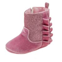 Laura Ashley® Size 9-12M Glitter Boot in Pink