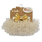 So 'dorable 0-3M 2-Piece Lamé Diaper Cover Set in Gold