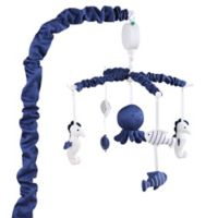 The PeanutShell™ Nautical Musical Mobile in Navy
