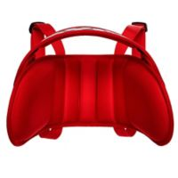 NapUp™ Child Car Seat Head Support in Red