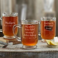 Write Your Own Glass Coffee Mug