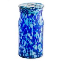 Bambeco ® Glass Canister in Blue