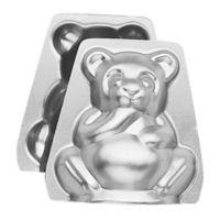 Wilton® 2-Piece 3-D Stand-UpTeddy Bear Cake Pan Set