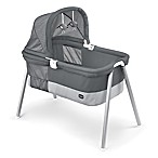 Chicco® Lullago Deluxe Travel Crib in Charcoal