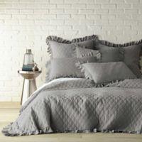 Levtex Home Sandwash Reversible Full/Queen Quilt in Grey