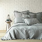 Levtex Home Stonewash Reversible King Quilt in Seafoam Blue