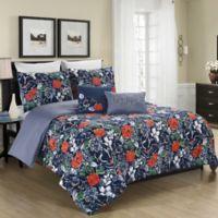 MHF Home Daria 4-Piece Twin Comforter Set