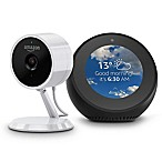 Amazon Echo Spot and Cloud Security Camera Bundle in Black