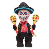 Las Calaveras Pablo Plush Toy in Black