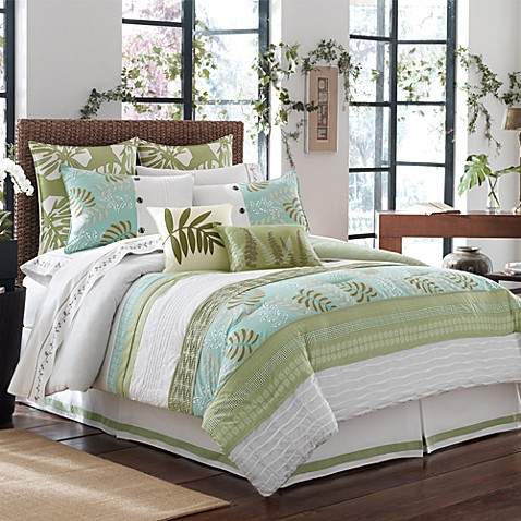 Luxe south seas comforter set bed bath beyond - Bed bath and beyond bedroom furniture ...