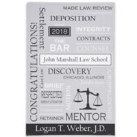 Legal Professions 12-Inch x 18-Inch Canvas Print