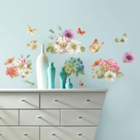 RoomMates Lisa Audit Garden Bouquet Peel & Stick Wall Decals