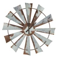 Kate and Laurel Millbrook Windmill Wall Clock