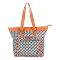 Jenni Chan Aria Broadway 18-Inch Computer Tote in Grey