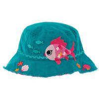 Stephen Joseph® Fish Bucket Hat in Teal