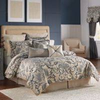 Croscill® Auden California King Comforter Set in Denim