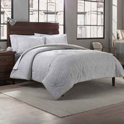 Garment Washed Comforter Set