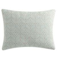 KAS Rooom Kemit King Pillow Sham in Mint Green