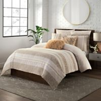 KAS ROOM Layla Full/Queen Duvet Cover in Rose Gold