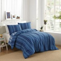 Justina Blakeney by Makers Pilar Reversible King Duvet Cover Set in Blue