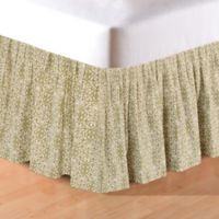 Althea King Bed Skirt in Green