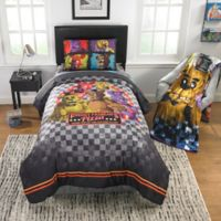 Five Nights at Freddy's Pizza Security Twin Comforter Set