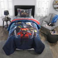 Warner Bros. LEGO® Ninjago® Warrior 4-Piece Twin Comforter Set in Blue