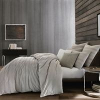Kenneth Cole Thompson Full/Queen Duvet Cover in Stone