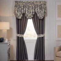 Croscill® Auden 84-Inch Window Curtain Panel Pair in Denim