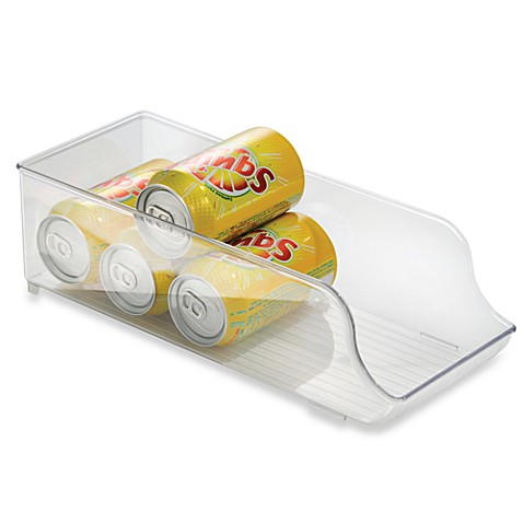 Interdesign fridge binz soda can organizer bed bath for Inter designs