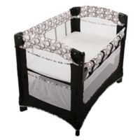 Arm's Reach® Ideal Ezee™ 3-in-1 Co-Sleeper® in Black/White Circle