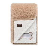 UGG® Classic Sherpa Pet Blanket in Sesame/Snow