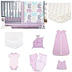 The Peanut Shell® Little Peanut Lilac 11-Piece Sleep Essentials Crib Set