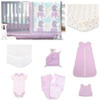 The Peanut Shell® Little Peanut 11-Piece Sleep Essentials Crib Bedding Set in Lilac