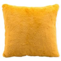 Zuo® Palmer Square Decorative Pillow in Yellow
