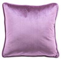 7ccb0eb5005 Zuo® Velvet Square Decorative Pillow in Purple