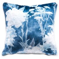 Zuo® Italy Square Decorative Pillow in Blue/White