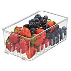 InterDesign® Fridge Binz Clear Stackable Berry Basket