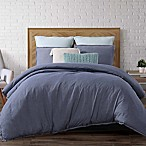 Brooklyn Loom Chambray Loft King Comforter Set in Blue