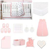 The PeanutShell™ Ellie Stripe 18-Piece Nursery Essentials Set