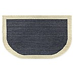 Home Dynamix 30-Inch x 18-Inch Wilmington Slice Kitchen Mat in Navy