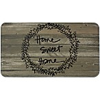 Home Dynamix Relaxed Chef Home Sweet Home 18-Inch x 30-Inch Anti-Fatigue Kitchen Mat