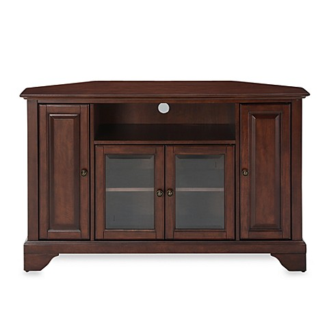 Buy Crosley Lafayette 48 Inch Corner Tv Stand In Mahogany From Bed Bath Beyond