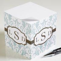 Trendy Signature Paper Note Cube
