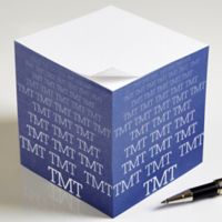 Optic Name Paper Note Cube