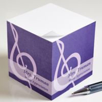 Teaching Professions Paper Note Cube