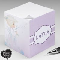 Precious Moments® Pastel Wishes Paper Note Cube