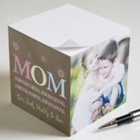 For Mom Paper Photo Note Cube