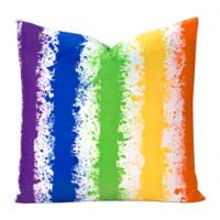 Learning Linens Brain Waves 16-Inch Square Throw Pillow