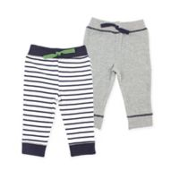 Yoga Sprout Size 6-9M 2-Pack Tapered Ankle Pants in Navy/Green